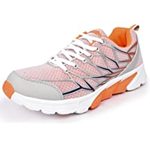 Action Shoes Action Sport Men Sports Shoes 1577-Grey-Orange