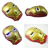 [E-4/16]ハロウィン アイアンマン マスク 仮装 仮面 msk055s【お取り寄せ品】送料無料(一部地域を除く)