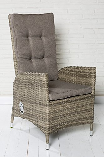 6x-Luxus-Polyrattan-Hochlehner-mit-verstellbarer-Rckenlehne-Gartensessel-Loungesessel-Relaxsessel-Positiosstuhl-Sessel-Rattan-Stuhl-Gartensthle-Balkonstuhl