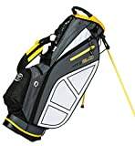Hot-Z Golf 2.0 Stand Bag, Gray/Yellow