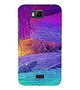 PrintVisa Modern Art Pattern 3D Hard Polycarbonate Designer Back Case Cover for Huawei Honor Bee
