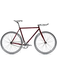 State Bicycle Core Model Fixed Gear Bicycle - Cardinal, 59 cm