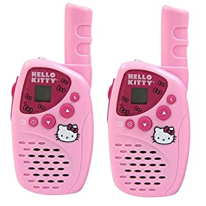 Hello Kitty Mini FRS/GMRS 22 Channels 2-Way Radio Set