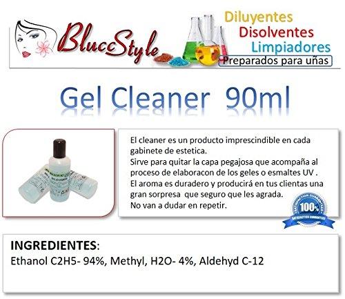 Gel Cleaner 90ml - Eliminar la capa pegajosa de geles UV y esmaltes permanentes