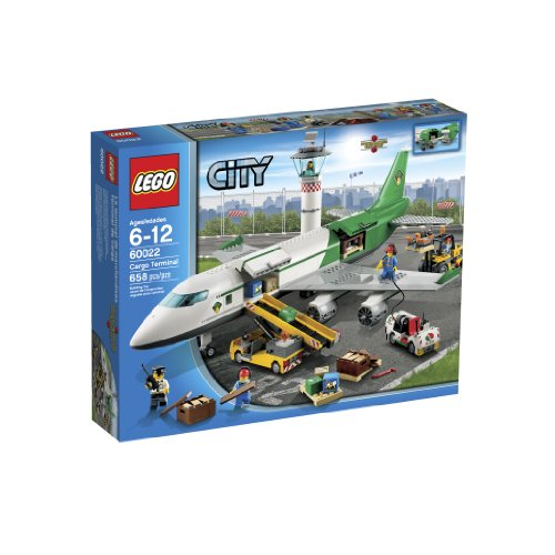 LEGO City 60022 Cargo Terminal Toy Building Set Amazon.com