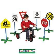 Big Sale Best Cheap Deals Guidecraft Drivetime Signs (Set of 6)