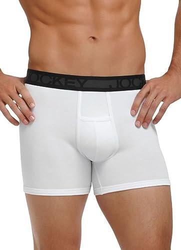 H Fly Boxer Briefs Jockey Men s Underwear Cotton