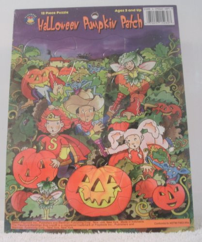 2 Puzzles in One Halloween Pumpkin Patch/We All Love Halloween - 1
