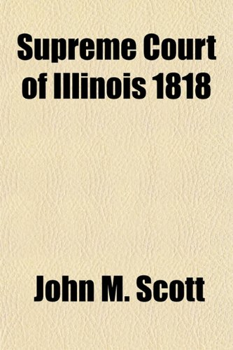 Supreme Court of Illinois 1818