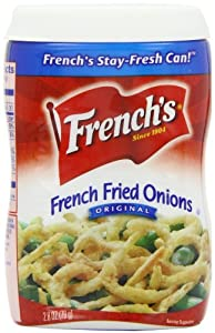 French's Fried Onions 79 g (Pack of 3)