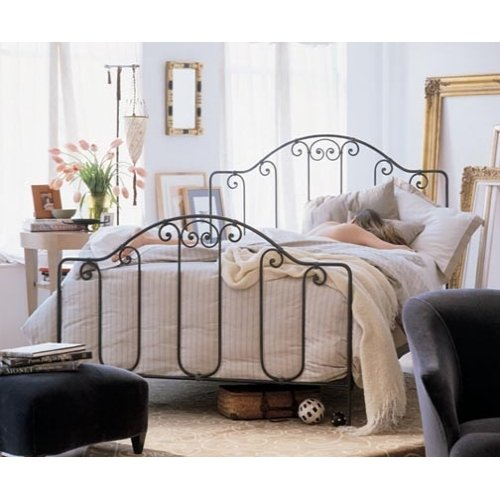 Antique Twin Iron Bed
