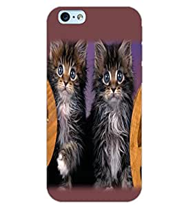 APPLE IPHONE 6 CATS Back Cover by PRINTSWAG