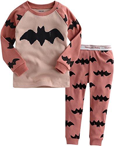 Vaenait Baby 12M-7T Kids Girls Sleepwear Pajama 2Pcs Set Batman Pink Xl