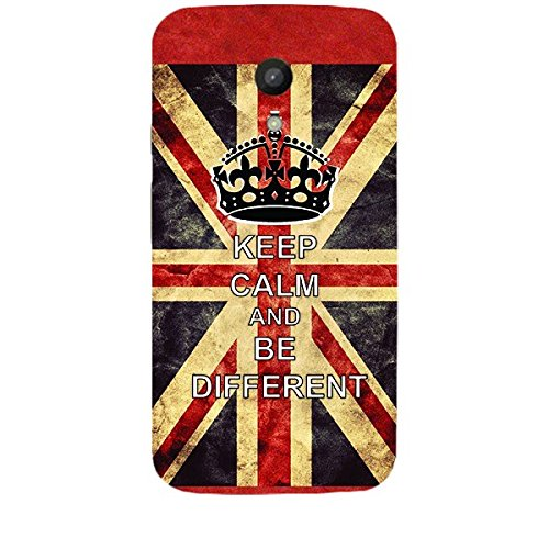 Skin4gadgets Keep The Calm and BE DIFFERENT Phone Skin for MOTO G 2ND G