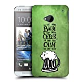 Head Case Designs Beer Irish Craic Protective Snap-on Hard Back Case Cover for HTC One