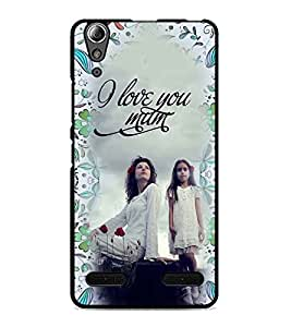 PrintDhaba Quote D-4166 Back Case Cover for LENOVO A6000 (Multi-Coloured)
