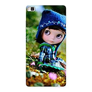 Impressive Cute Kid Multicolor Back Case Cover for Huawei P8
