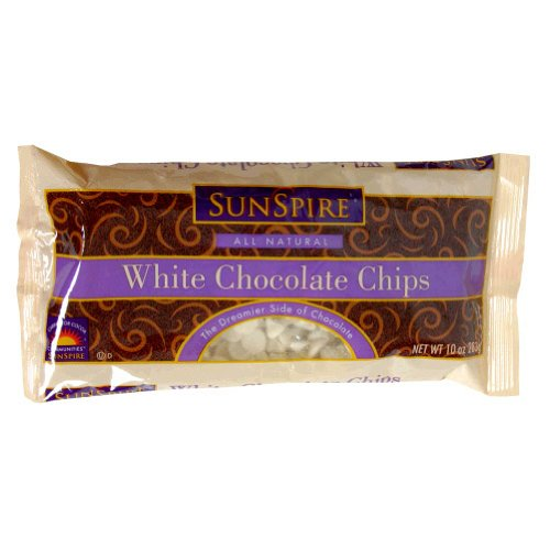 Sunspire White Chocolate Baking Chips (12x10 OZ)