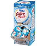 Coffee-mate Coffee Creamer, French Vanilla Liquid Singles, 0.375-Ounce Creamers (Pack of 200)