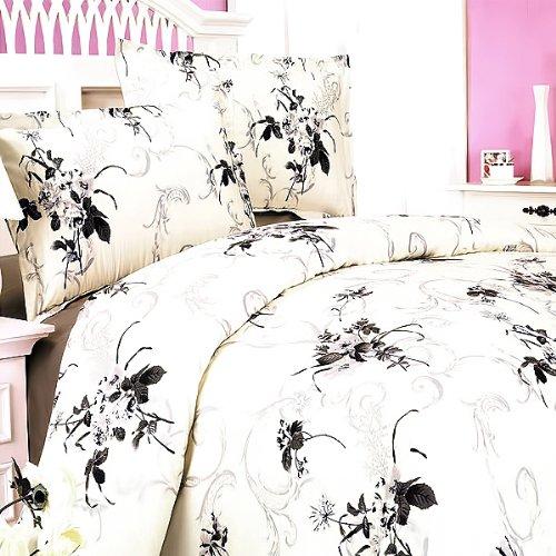 Blancho Bedding - [Spring Rose] 100% Cotton 4PC Comforter Cover/Duvet Cover Combo (Full Size)