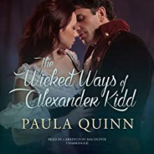 The Wicked Ways of Alexander Kidd: The MacGregors: Highland Heirs, Book 2 (       UNABRIDGED) by Paula Quinn Narrated by Carrington MacDuffie
