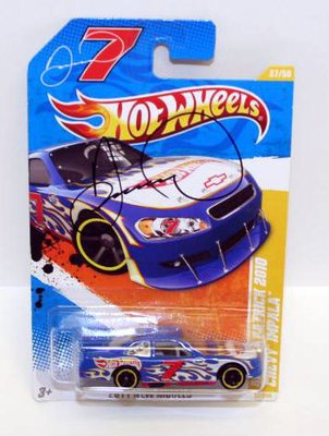 Danica Patrick Signed 1/64 HOTWHEELS Diecast Car COA - PSA/DNA Certified - Autographed NASCAR Diecast Cars