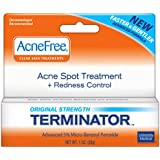 AcneFree Terminator, 1 Ounce Tube