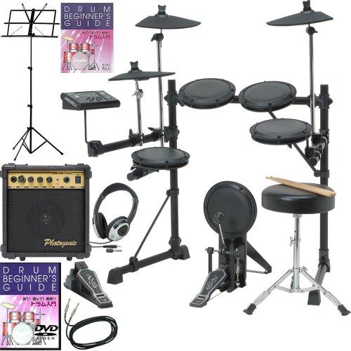 電子ドラム MEDELI DD-502J アンプ・上達セット【教則本・譜面台付き】/ブラック(9757407060)