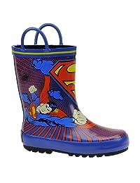 Warner Bros Superman SUS500 Rain Boot (Toddler/Little Kid)