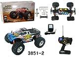 1:10 Scale Radio Control Electric (Esc) Offroad Mad Truck