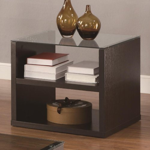 Cheap Cappuccino Occasional End Table By Coaster Furniture (B008XA7TLW)