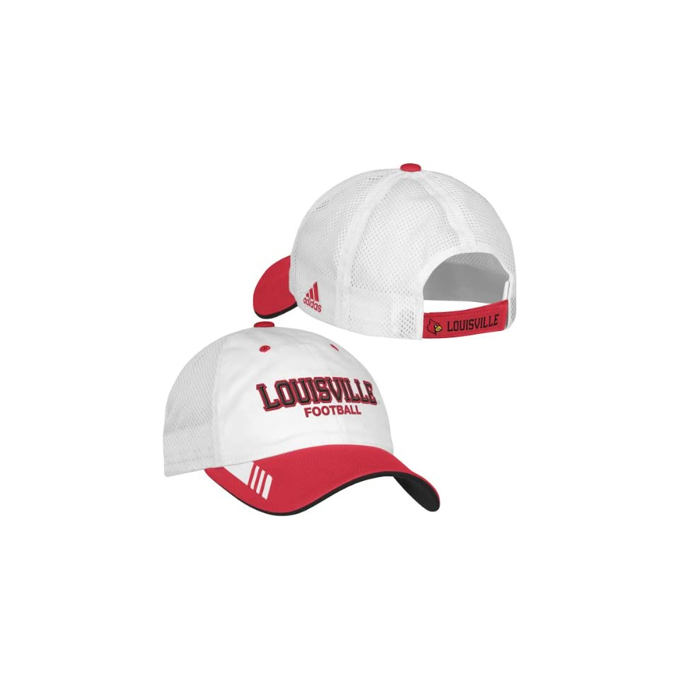 adidas Louisville Cardinals Coachs Mesh Back Slouch Hat