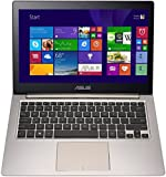 Asus Zenbook UX303LA-RO340T 33,8 cm (13,3 Zoll HD) Notebook (Intel Core i5 5200U, 8GB RAM, 128GB SSD, HD Graphic, Win 10 Home) bronze