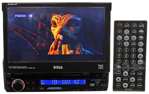 Brand New Boss Audio BV9964B In-Dash DVD, CD, MP3 Receiver with 7