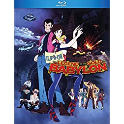 Lupin the 3rd: The Legend of the Gold of Babylon [Blu-ray]