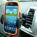 Secure Car Vehicle Air Vent Mount for Samsung Galaxy S3 S4 & S5