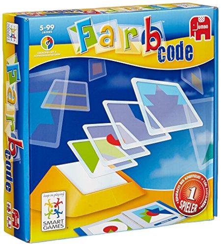 Jumbo Spiele 12815 Farb-Code - Juego de identificación de colores (contenido en alemán)