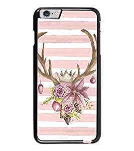 PrintDhaba Deer Pattern D-1456 Back Case Cover for APPLE IPHONE 6 (Multi-Coloured)