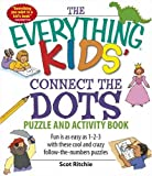 Everything Kids' Connect the Dots and Puzzles Book