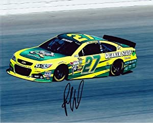 Buy AUTOGRAPHED 2013 Paul Menard #27 Quaker State Racing (Sprint Cup On-Track) SIGNED NASCAR 8X10 Glossy Photo w  COA by Trackside Autographs