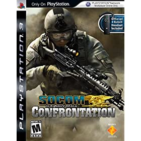 SOCOM U.S. Navy SEALs: Confrontation bundled with Bluetooth Headset
