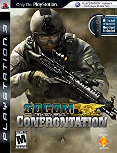 Buy : SOCOM: U.S. Navy SEALs Confrontation bundled with Bluetooth Headset