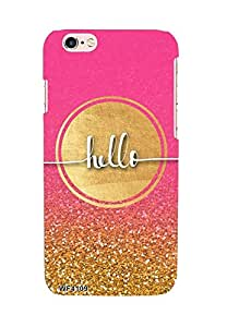 Pink Hello case for Apple iPhone 6+ / 6s+