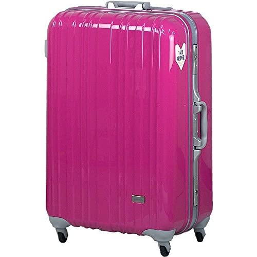 TSAロック スーツケース SPALDING モデル0614 ≪ピンク≫ 大型 Lサイズ 73cm 5.9kg 103リットル 8泊以上 スポルディング ポリカーボネイト100% ハード キャリー
