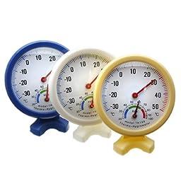 Indoor Outdoor Wet Hygrometer Humidity Thermometer Temperature Meter.