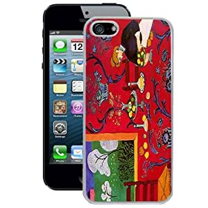 Hot Buckles The Dessert Harmony in Red Henri Matisse iPhone 5 Case (White)