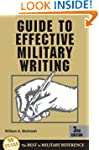 Guide To Effective Military Writing,...