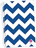 "Bloom Daily Planners 2016 Calendar Year Daily Planner - Passion/Goal Organizer - Monthly Weekly Agenda Datebook Diary - January 2016 - December 2016 - 6"" x 8.25"" - Navy Chevron"