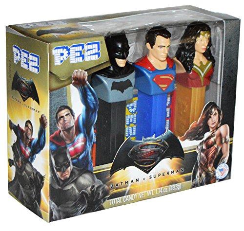 Batman V Superman: Dawn of Justice PEZ Set at Gotham City Store