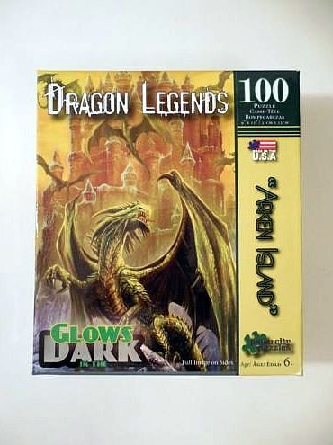 Arken Island Dragon Legends 100 Piece Puzzle